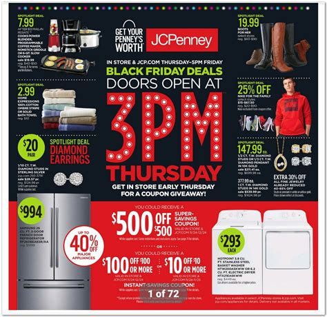 black friday table deals 2017 jcpenney black friday 2017 ads deals and sales