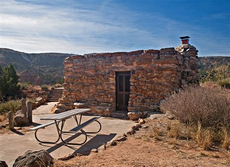 palo duro canyon state park cabins  camp texas parks wildlife department