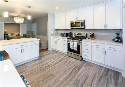 kitchen cabinets white shaker how white shaker cabinets improve your home value best 6450