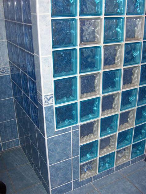 salle de bain pave de verre mosa 239 que et pav 233 s de verre 6 photo de salles de bain am 233 lioration breizh logement