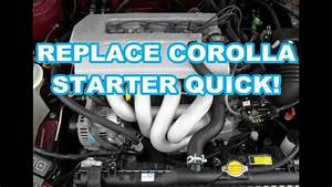 Starter Replacement 1999 Toyota Corolla 98