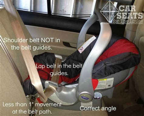 chicco baby car seat manual installing a rear facing only seat without the base car