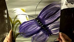 Abstract, Butterfly, In, Acrylics, Step, By, Step, Beginners