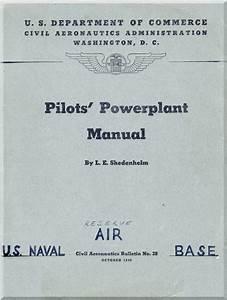 Pilot U0026 39 S Powerplant Manual
