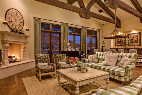 17+ French Country Living Room Designs, Ideas Design