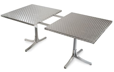 inox table extendable design within reach
