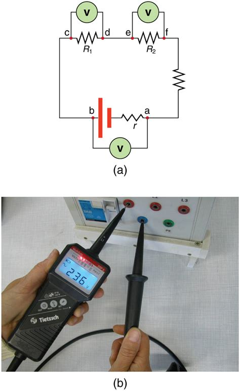 Voltmeters Ammeters Boundless Physics