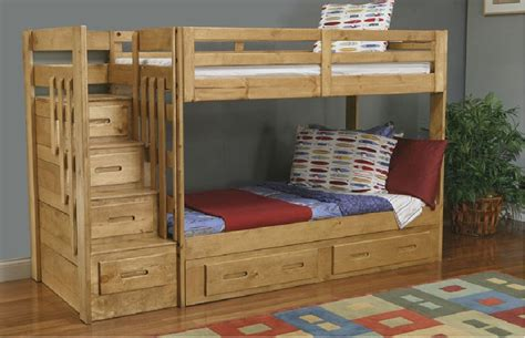 blueprints  bunk beds  stairs storage wooden bunk beds bunk bed plans staircase
