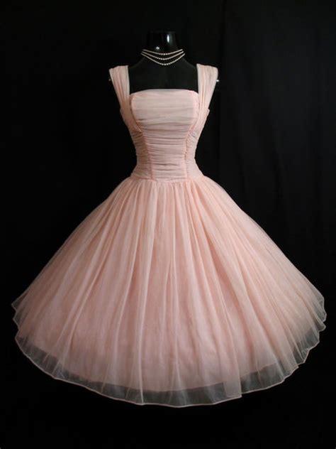 vintage pink short chiffon homecoming dress party dress  storenvy