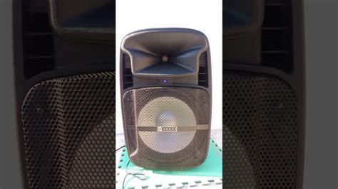 Impresionante Sonido Del Bafle Gebox De 20000 Watts Pmpo