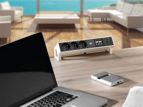 bachmann desk 2 bachmann desk 2 3x power socket outlets 2x cat6 1x usb 1x hdmi white 902 302