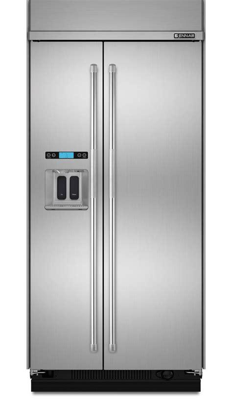 jenn air built  side  side refrigerator jsppdude
