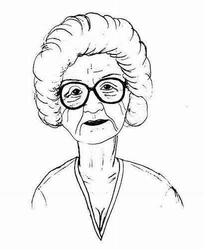 Grandma Coloring Pages Gimme Concerned Reasons Dailynebraskan