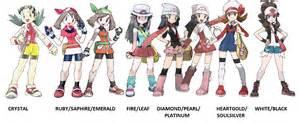 Female Trainers of Pokemon v2