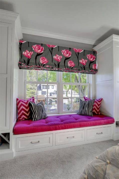 Bedroom Window Seat Ideas by Grey White Pink Themed Bedroom Window Seat New