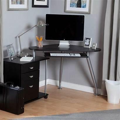 Desk Computer Spaces Office Corner Cabinet Cozy