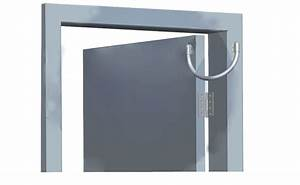 Door Access Control Armored Cable Loop Wire Protector Exposed Mounting Cable Door Loop