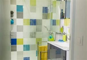 colonne salle de bains leroy merlin tablette salle de With carrelage adhesif salle de bain avec brico depot spot led encastrable