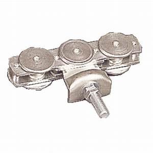Roulette Pour Porte Coulissante : roulette boulon triple pour porte coulissante charge ~ Dailycaller-alerts.com Idées de Décoration