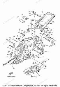 Yamaha Atv 2010 Oem Parts Diagram For Frame