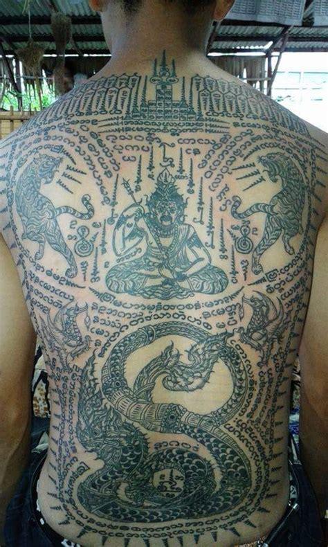 thai sak yant tattoo tattoos tattoos sak yant tattoo