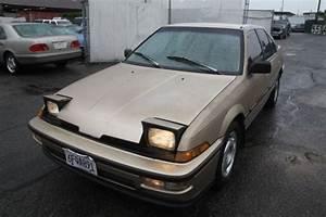 1988 Acura Integra Ls Manual 4 Cylinder No Reserve
