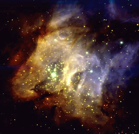 Star Forming Region Rcw38 In The Milky Way Eso