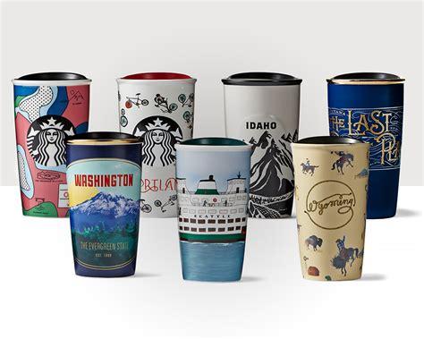 12 oz travel coffee mug design inspired by the northwest