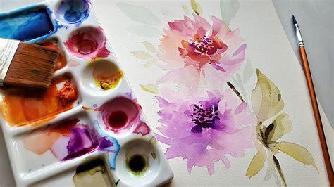 aquarell malen die anleitung zur aquarellmalerei