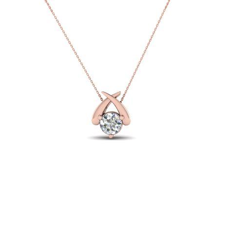 single diamond pendant necklace stylish design ideas necklace inspiration