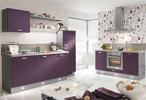 Lila kuche von pino by alno purple kitchen by pino for Küche pino