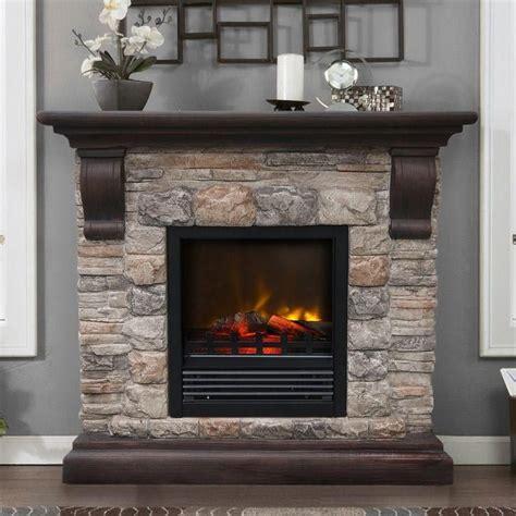 faux stone fireplaces ideas  pinterest diy