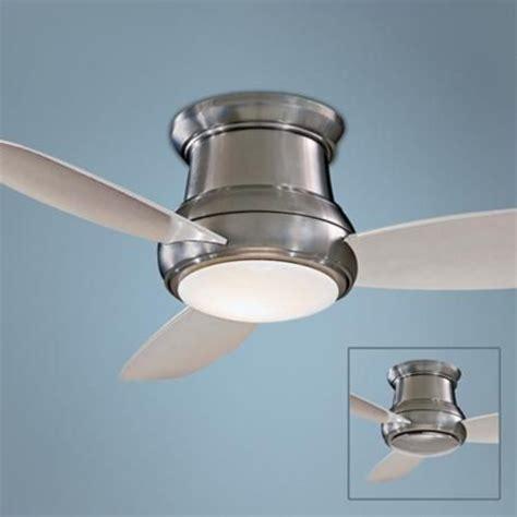 minka concept ii hugger ceiling 44 quot minka concept ii brushed nickel hugger ceiling fan