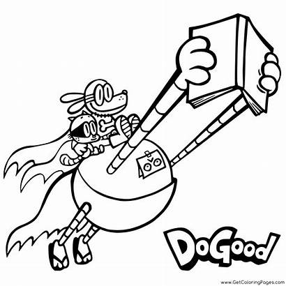 Dog Coloring Pages Printable Pilkey Dav Getcoloringpages