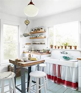 budget kitchen decorating makeover With simple and cozy country kitchen designs