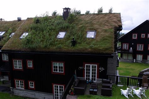Haus Mit Grasdach by The Grass Roofs Of Amusing Planet