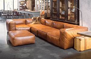 Sofa In Cognac : cognac leather sofas are now on trend for 2018 homes leather sofas ~ Indierocktalk.com Haus und Dekorationen