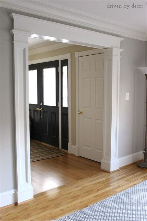 25 best ideas about door molding on craftsman