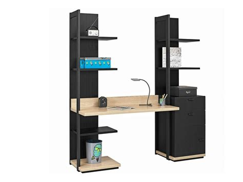bureau avec etagere integree bureau avec etagere