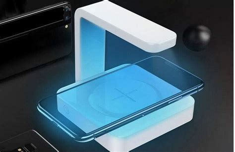 KKTECT UV-C Wireless Phone Charger & Sanitizer
