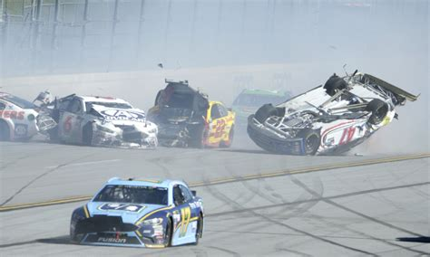 Nascar Driver Relives Terrifying, Airborne Crash That Left