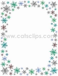Winter Border Clip Art   New Calendar Template Site