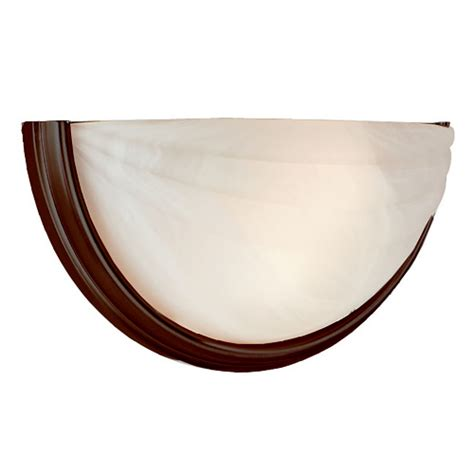 contemporary half moon wall sconce access lighting half