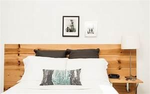 Idee Deco Tete De Lit : t te de lit originale faire soi m me 24 projets d co diy ~ Melissatoandfro.com Idées de Décoration