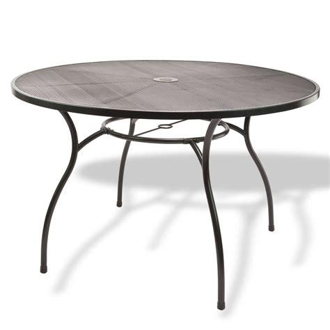 Tisch Rund Metall by Gartenm 246 Bel Metall 1 X Tisch Rund 120x71 4 X Stuhl Set