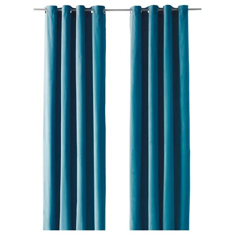 Sanela Curtains Turquoise by Turquoise Curtains Ikea Sanela Curtains 1 Pair Turquoise
