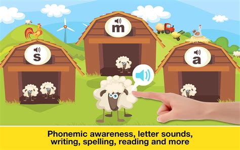 phonics fun  farm reading spelling  tracing