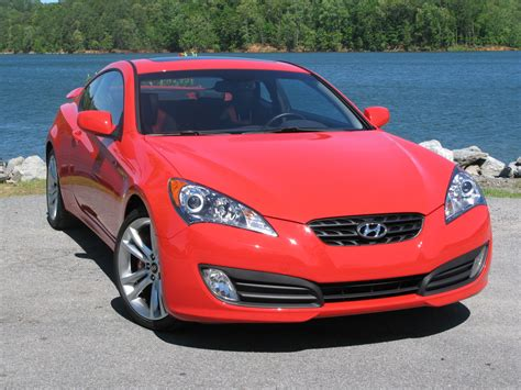 Hyundai Genesis Coupe Turbocharged Track Package First ...