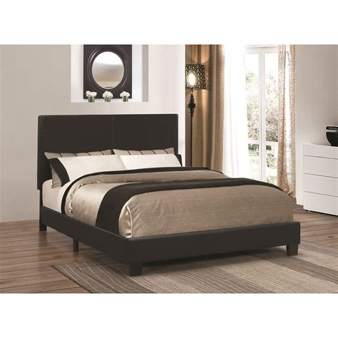 27010 coaster furniture beds coaster upholstered beds upholstered low profile bed
