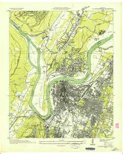 Chattanooga Tennessee Map